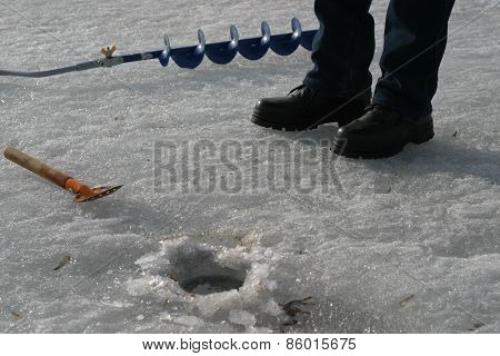 Fisherman Equipment.winter Fishing