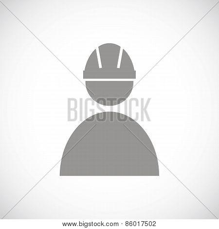 Working black icon