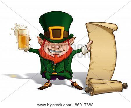 St. Patrick - Scrol