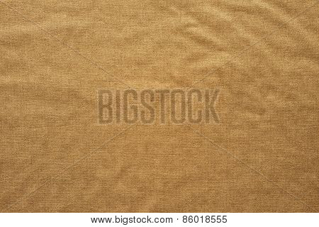 Rough Texture Fabric Of Sand Color