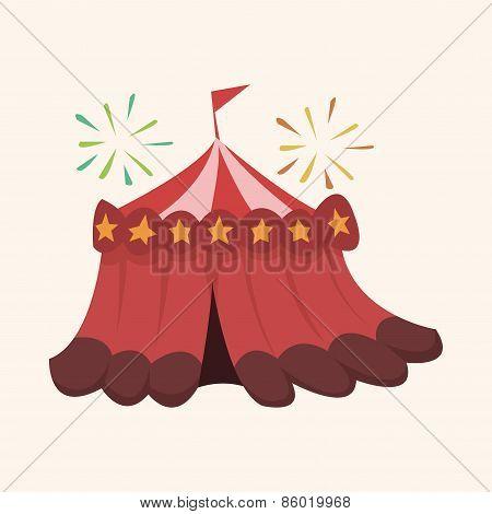 Circus Theme Tent Elements