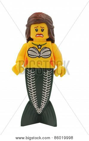 Atlantis Mermaid Lego Minifigure