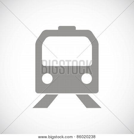Train black icon