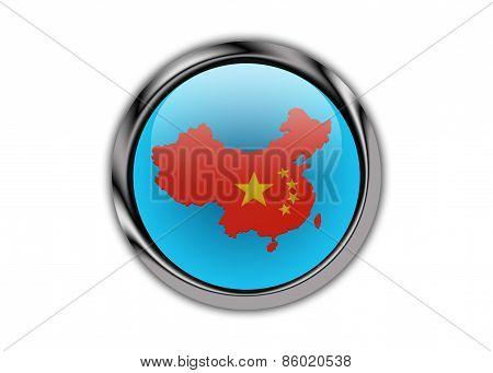 China On Glossy Push Button