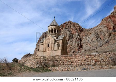 Surb Astvatsatsin Church In Noravank Orthodox Monastery, Located In Gorge of Amaghu River,armenia