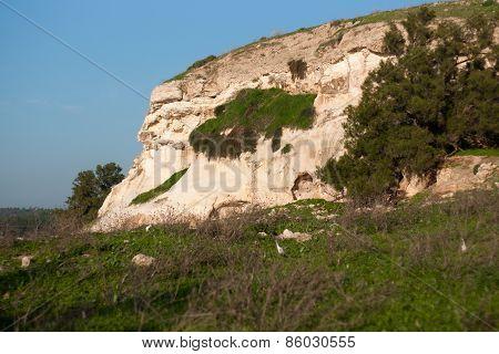 Hiking In Israel Landscape