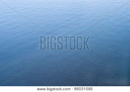 Background In The Form Of A Ripples On Water