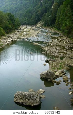 Carpathian river Prut