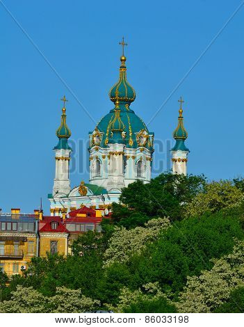 Kiev, Ukraine. St. Andrew's Church