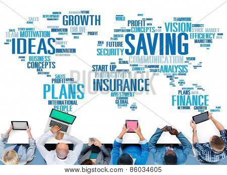 Saving Insurance Plans Ideas Finance Growth Analysis Concept