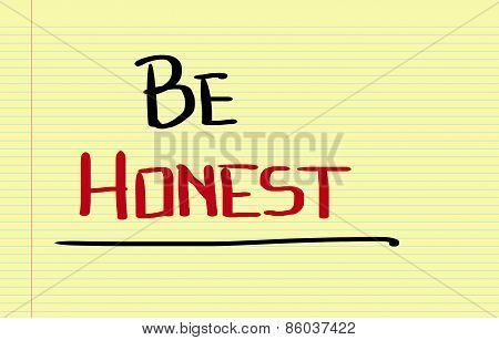 Honest Concept