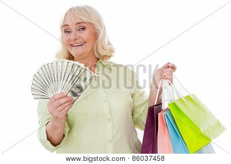 Senior Shopaholic.