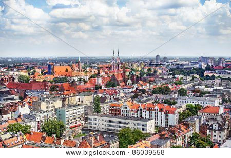 The Old Town In Wroclaw