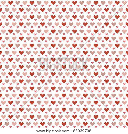 Seamless Hearts Background