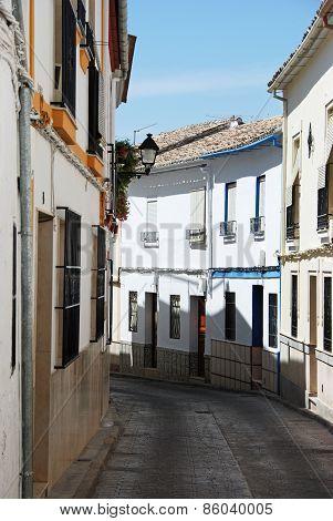 Village street, Cabra.