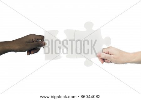 Interracial Teamwork