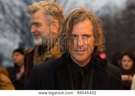 BERLIN, GERMANY - FEBRUARY 07: Director Brett Morgen attend the 'Cobain: Montage of Heck' premiere during the 65th Berlinale International Film Festival at Kino International on February 7, 2015