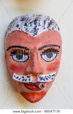 Handmade Typical Nicaraguan Mask