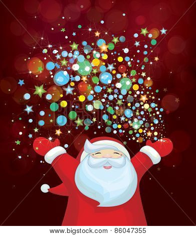 Vector Santa Claus.
