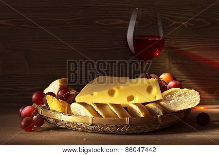Cheese With Bread