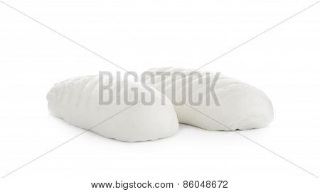 Steamed Stuff Bun Isolated On White Background