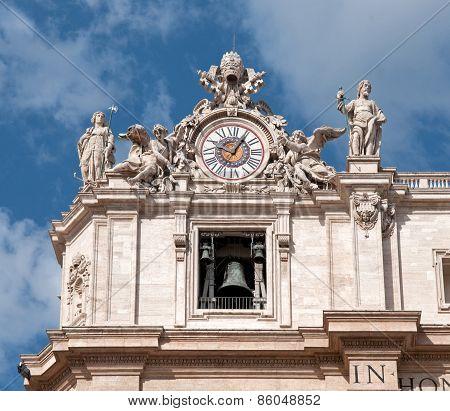 St. Peter's Basilica - Detail