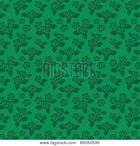 Vector floral background. Seamless pattern.