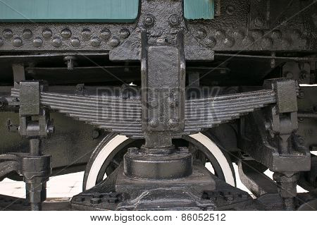 Black Leaf Spring Of Train