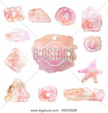 Pink spots