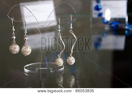 Handmade jewelry and keychains with colorful glass beads