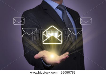 Touch Screen Email Visual Screen