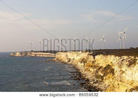 Wind Generator, Bozcaada, Turkey