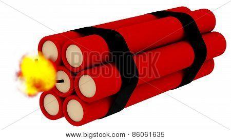 Lit Bomb