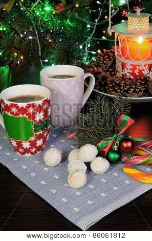 Sweets With Coffee Mug