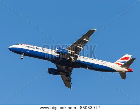 Airbus A321 Passenger Aircraft, The Airlines British Airways