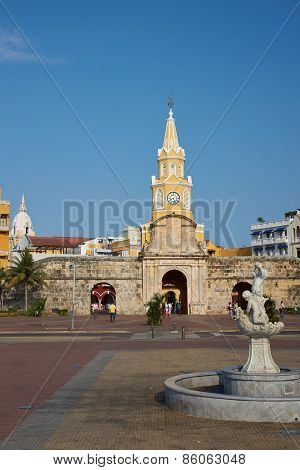 Entrance to Cartagena de Indias