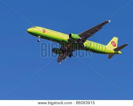 Airbus A321, Sibir S7