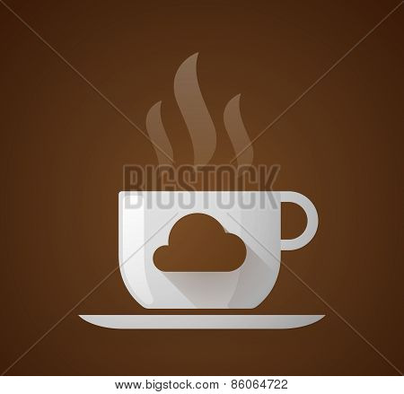 Coffee Cup With A Cloud