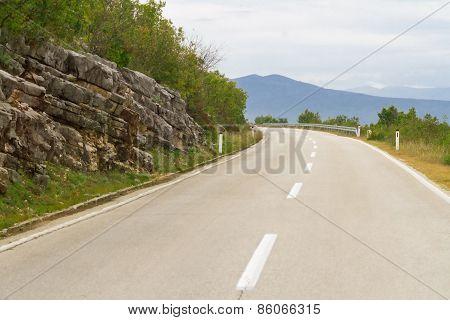 Empty Mountain Road