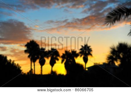 Background Image Of Sunrise At The Beach