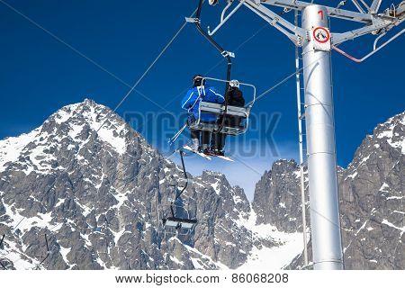 Ski Resort Tatranska Lomnica, Slovakia