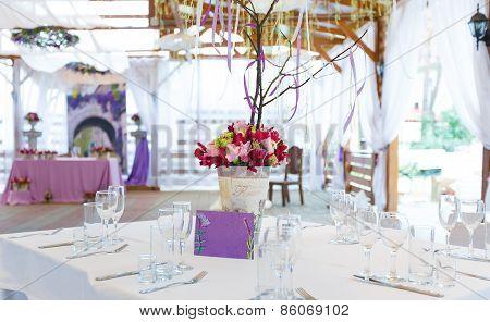 Elegant Wedding Festive Table Decoration