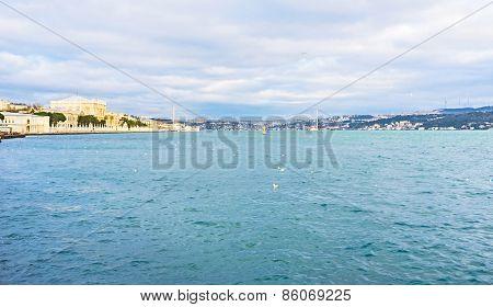 The Embankment Of Bosphorus