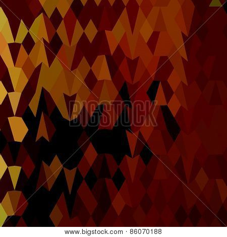 Autumn Leaves Abstract Low Polygon Background