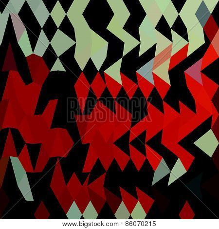Harlequin Abstract Low Polygon Background