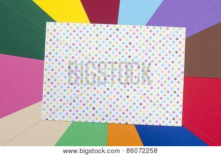 White Sheet Paper With Stars.