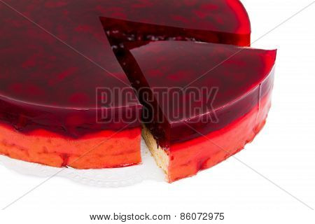Berry Pie Sliced