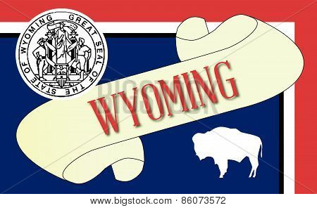 Wyoming Scroll