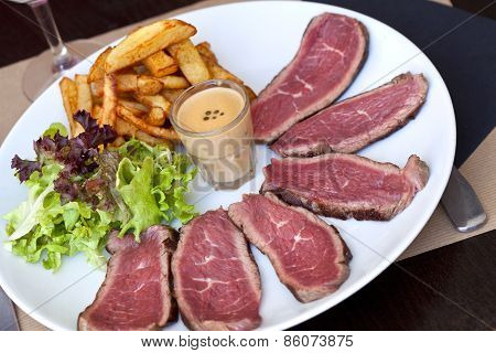 Roast Beef On A Plate