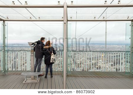 Paris. Montparnasse Tower.